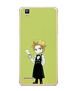 FUSON Designer Back Case Cover for Oppo F1 :: A35 (Fashion Girly Paintings Blutooth Phone )