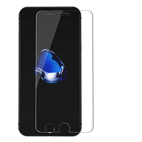 iPhone 7 Plus Pellicolla Protettiva in Vetro Temperato Curvo Choetech® [Spesso solo 0,33mm] Durezza 9H