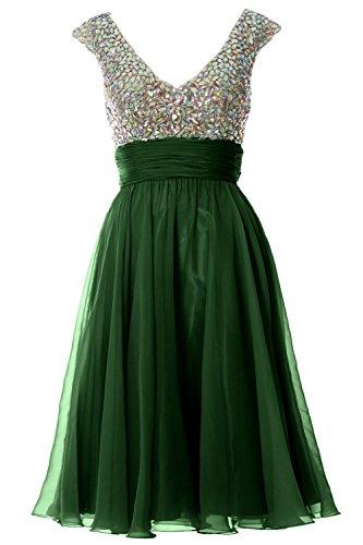 MACloth - Robe - Trapèze - Femme Vert - Vert foncé