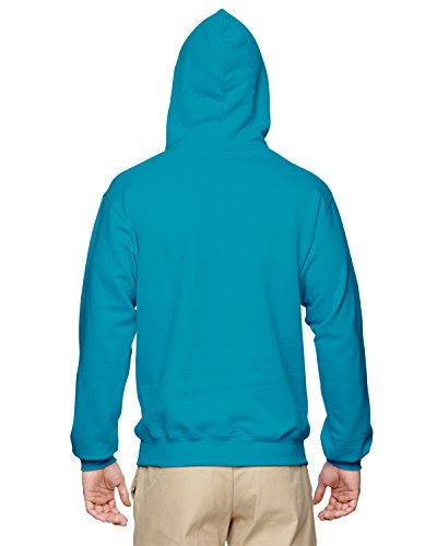Wei§er Fu§ball auf American Apparel Fine Jersey Shirt Blau (California Blue)