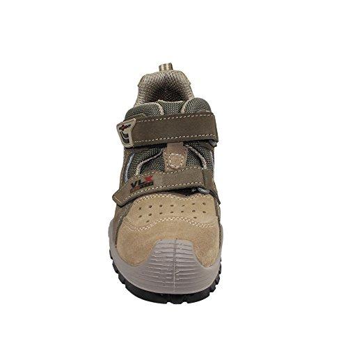 Aimont felix s1P sRC chaussures berufsschuhe businessschuhe chaussures de trekking-marron Marron - Marron