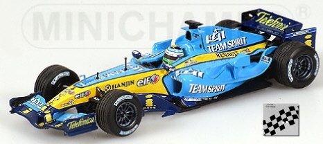 MINICHAMPS 1/43 - 400 05006 RENAULT F1 TEAM R25 2005 - G....