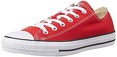 Converse Unisex's Red Sneakers - 3 UK/India (35 EU) (150770C)