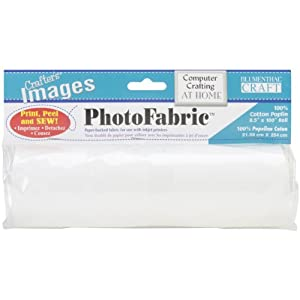 Blumenthal Lansing 'Crafters Images photofabric 100% Cotton poplin-8-1/2