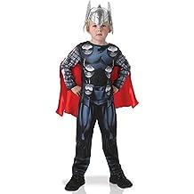 Rubie's–Disfraz oficial de Thor de Los Vengadores Assemble Classic, para niños–tamaño mediano.