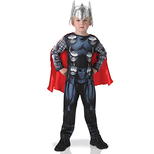 The Avengers Thor Kostüm für Kinder, (Thor Superhelden)