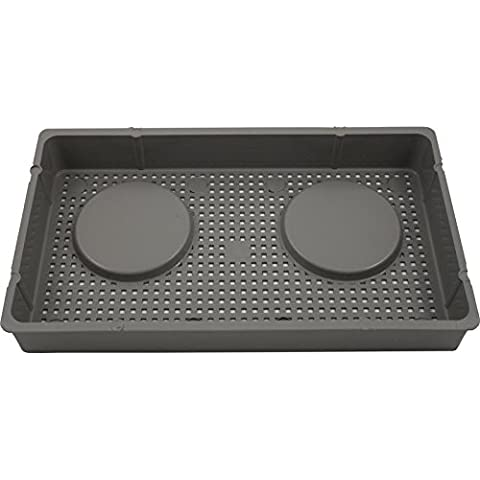 Waterway 519-6617 100 Sq. Ft. Front Access Skimmer Basket - Gray