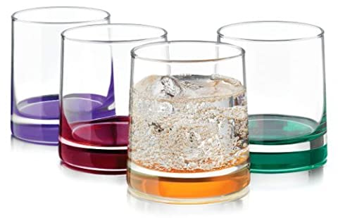 Libbey 4-pc. Impressions Colors Rocks Glass Set by Libbey
