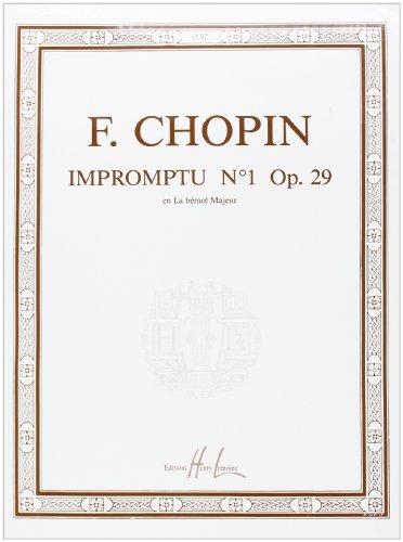 Impromptu n°1 Op.29 Lab maj.