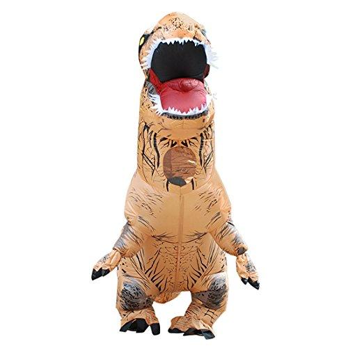 Triseaman Erwachsene Halloween Kostüm T-REX Blow Up Cosplay Aufblasbarer Dinosaurier (Trex Kostüme)
