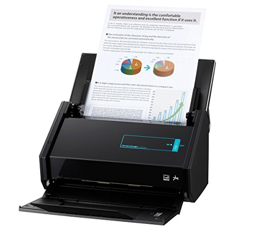 Fujitsu ScanSnap iX500 Dokumentenscanner inkl. Corel WINZIP 21 PRO (600dpi, WLAN, USB 3.0, Abbyy PDF Finereader MAC / WIN) ohne Nuance Power PDF