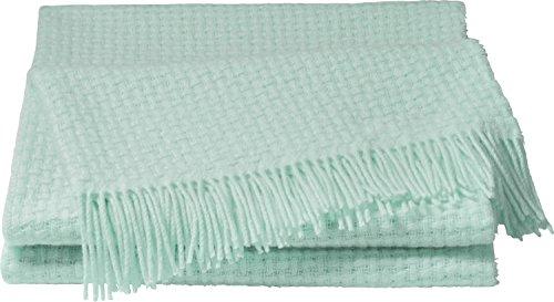 TOM TAILOR Plaid Baumwollmischung Mint Größe 150x200 cm