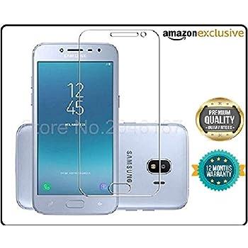 JGDWORLD Samsung Galaxy J2 2018 Tempered Glass 25D 9H Hardness Transparent Flexible For J22018