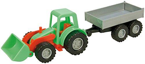 Lena 01240 - Mini Compact Traktor mit Hänger