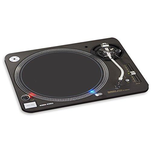 PLATTENSPIELER 1 PC COMPUTER MAUSPAD - Musik Vinyl DJ Mischpult Decks
