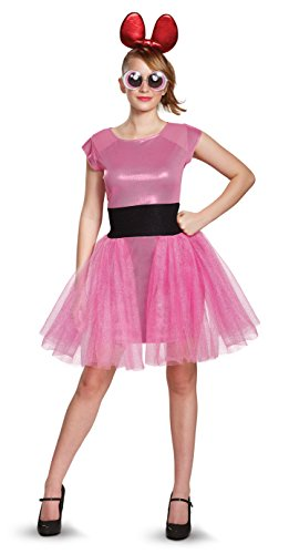 Women's Powerpuff Girls Blossom Deluxe Fancy dress costume Teen (Teen Girl Kostüme)