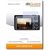 [2 Pack] Canon Powershot SX720 HS Screen Protector Film disGuard® [Anti-Reflex] Anti-Glare, Anti-Reflective / Scratch Resistant, Bubble-Free Install, Anti-Fingerprint, Anti-Scratch / Film, Protector Film, Screen Guard