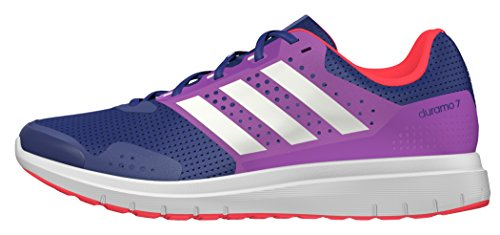 adidas  Duramo 7, Entraînement de course femme Bleu (Unity Ink/White/Shock Purple)