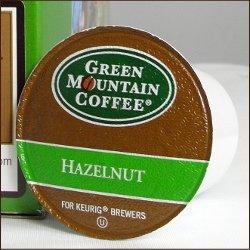 Green Mountain Coffee HAZELNUT 24 K-Cups for all Keurig Brewing Systems by Green Mountain Coffee
