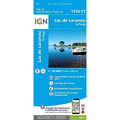 1336ET LAC DE LACANAU - LE PORGE