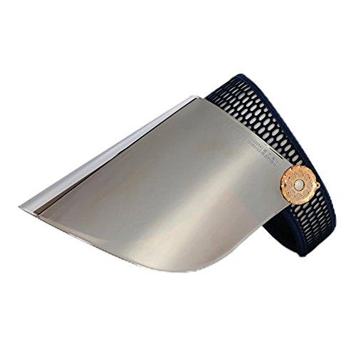(YXINY Sonnenhüte Sonne Hüte Polarisiert Leer oben Hut Visier UV Schutz Einstellbar Wandern Golf Tennis Draußen Angeln Materialien PC Damen Accessoires Hüte & Mützen (Farbe : 15))