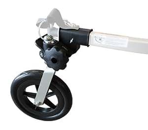 Burley Kit de remorque 1 roue Noir