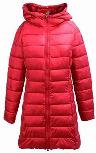 Giubbotto Donna INVICTA 4432162/D Nylon Piumino eco lungo Autunno Inverno 2016 Rosso ciliegia L