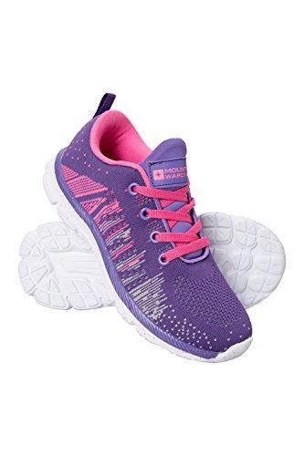 Mountain Warehouse Kinder Strick-Sneakers Rosa