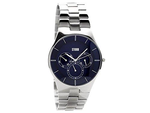 Storm 47337/B Blue Multi Dial Bracelet Watch Wrist Quartz Water Resistant Men