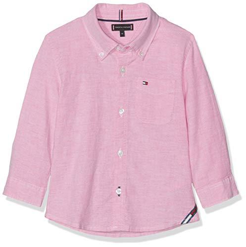 TOMMY HILFIGER Essential Solid Oxford Shirt Ls Blusa Morado Fuchsia Purple 503 92 para Bebés