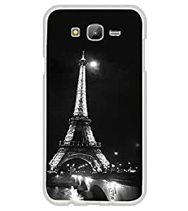 FUSON Designer Back Case Cover for Samsung On5 (2016) New Edition For 2017 :: Samsung Galaxy On 5 (2017) (Iron lady of paris design Old lady of paris design Tour eiffel design Dark color eiffel tower design Symbol of love design)