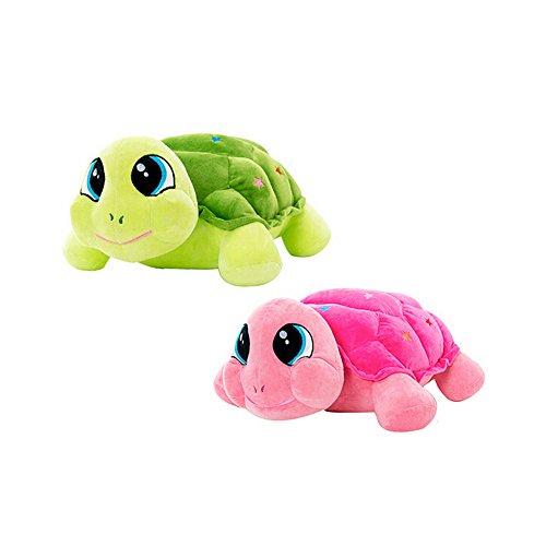 Balai 13,8 Zoll Große Augen Schildkröte Kuscheltier Puppe, Kinder Stofftier Kissen Spielzeug,Bürostuhl Kissen Kissen