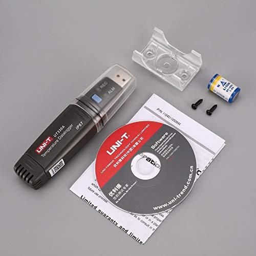 Uni-T UT330A Mini Portable USB-Temperatur-Datenspeicher Logger Tester Thermometer-Recorder -40 ℃ ~ 80 Data 6000 Setzt Daten