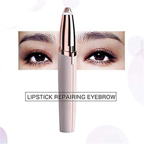 AtR Cortador de Cejas eléctrico Maquillaje Mini afeitadora de Cejas Razor Depiladora portátil Depiladora Facial para Mujeres