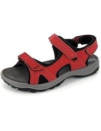 Imac Sandalette Farbe: Rot/Schwarz