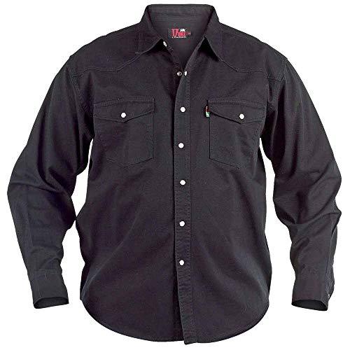 Duke - Camisa Vaquera Modelo Western Tallas Grandes