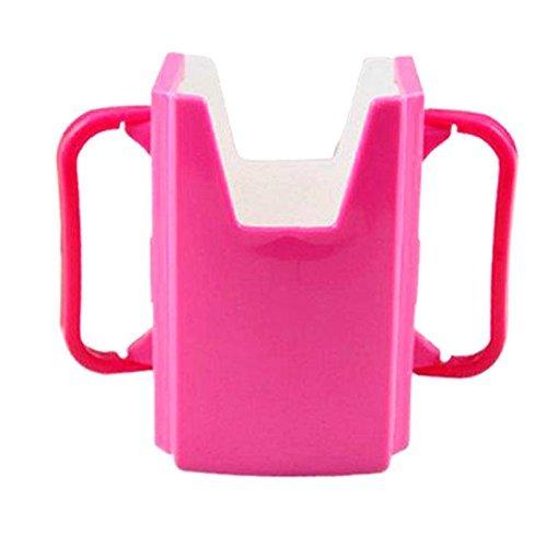 Obstschale Arbre Kleinkinder self-helper Drink Saft Milch Pouch Box Holder Becherhalter ForKids (Rosy)