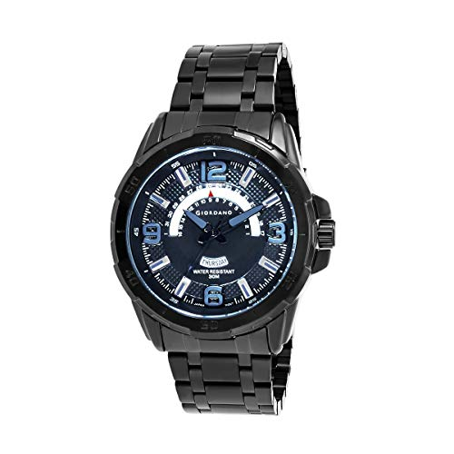 Giordano Analog Black Dial Men's Watch