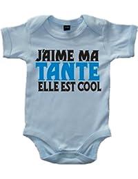 J'AIME MA TANTE ELLE EST COOL' bébé bodysuit