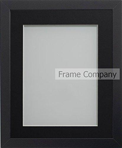 8x10 Holz Schwarzer Bilderrahmen (Frame Company Allington Range Bilderrahmen, holz, schwarz, 12 x 10 Inches mounted for 10 x 8 Inches image)