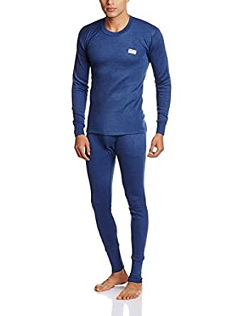 Rupa Thermocot Men's Thermal Set (8903978491783_Volcano R-N F-S - Trouser Set Gents - 85_Blue)