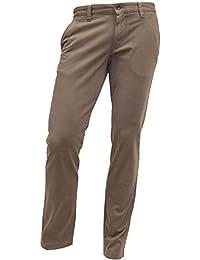ALBERTO Garment Dyed Pima Cotton Chino Modell Lou, Slim Fit