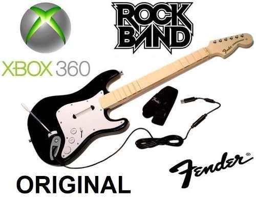 Rock Band 1 Fender Stratocaster Controller für Xbox 360 (Guitar Hero Xbox Controller)