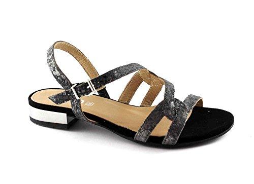 IGI & CO 78300 femmes noires chaussures sandales élégant bracelet en cuir Nero