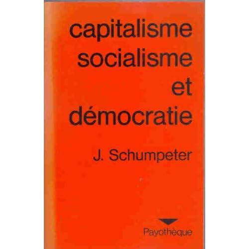 Capitalisme, socialisme et démocratie (Payothèque)