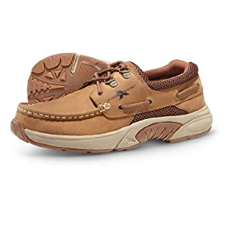Rugged Shark Men's Atlantic Classic Casual Boat Shoe with Cushioned Support, Copper Brown, Men's Size 10.5 (B004I755OC) | Amazon price tracker / tracking, Amazon price history charts, Amazon price watches, Amazon price drop alerts