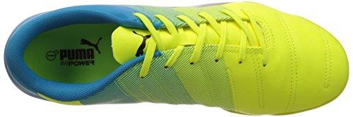 Puma Evopower 4.3 Tt, Chaussures de football femme Jaune (Safety Yellow/Black/Atomic Blue)