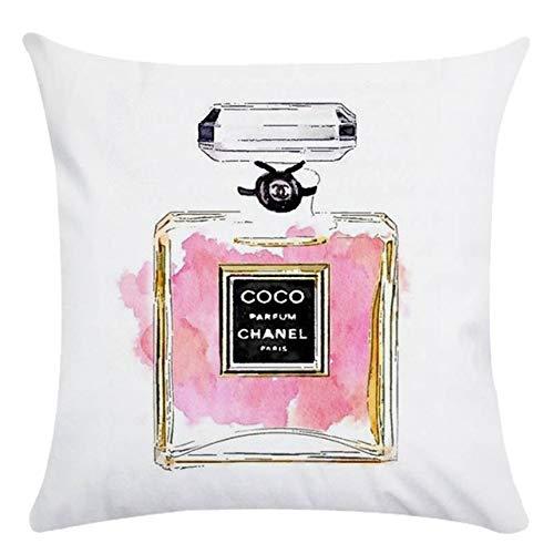 Lippenstift parfüm tasche high heel leinen kissen mantel kissen ebay Amazon direkt ab werk bericht 13 45 * 45 cm -