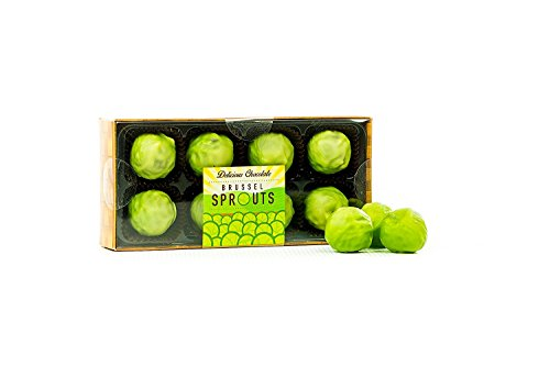 Chocolate Brussels Sprouts 8 truffles