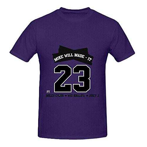 23-mike-will-made-it-itunes-hits-men-o-neck-screen-printed-shirts-medium